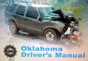 The cover of Oklahoma's 2010 Driver's Manual.