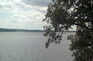 Fort Gibson Lake from the Western Hills Guest Ranch.