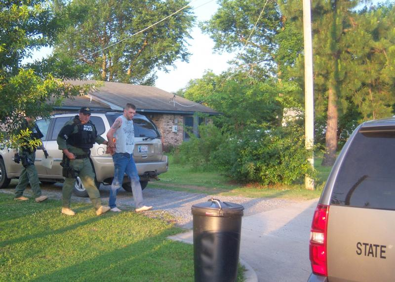 A suspect is arrested in Pittsburg County.
