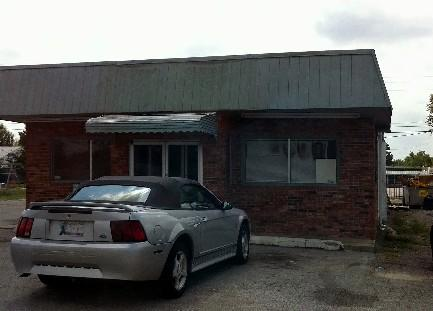 This daycare center, on East Pine, was one of those set on fire.