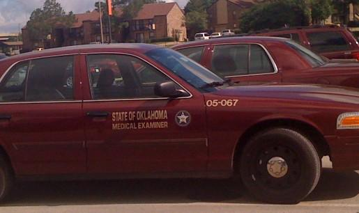 The Medical Examiner's fleet at the Tulsa lab.