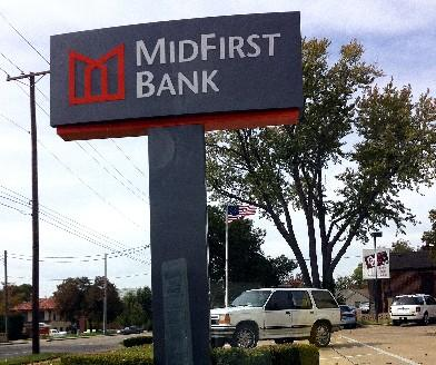 Mid-First Bank at 21st and Birmingham