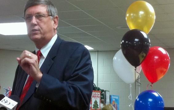 Tulsa Superintendent Doctor Keith Ballard