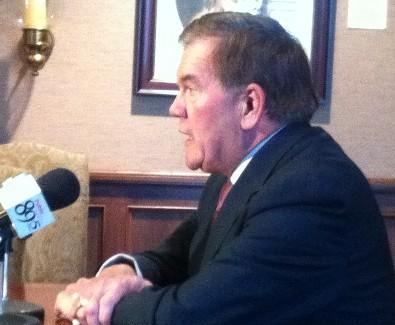 Tom Ridge on the TU Campus