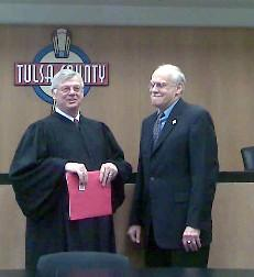Judge Thornbrugh and Commissioner Perry