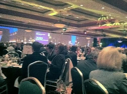 A full house for the Chamber of Commerce Luncheon