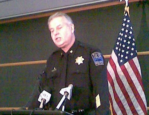 Police Chief Chuck Jordan