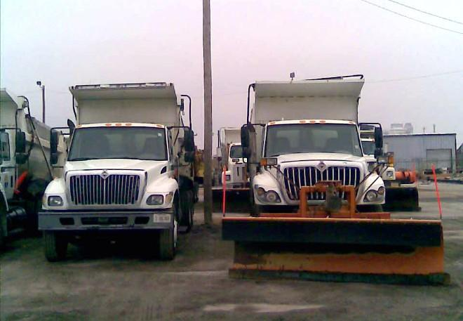 Salt trucks are ready to treat Tulsa's streets.