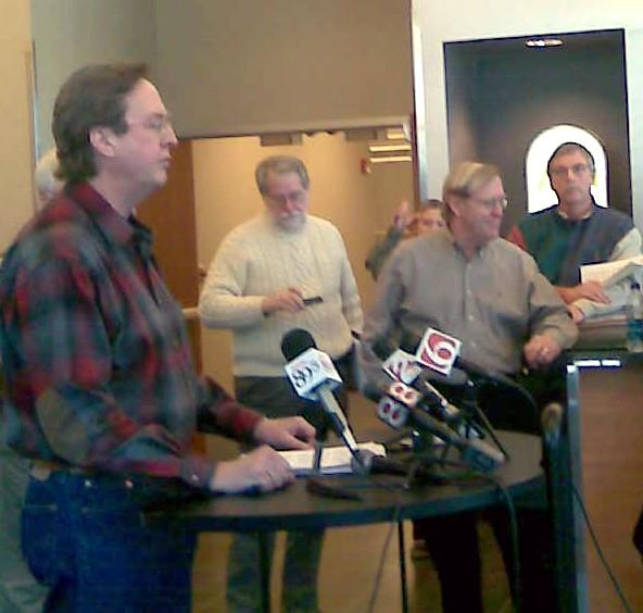 Mayor Bartlett discusses recovery from the Blizzard of 2011.