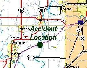 Accident Location in Ottawa County