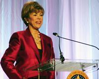 Sandy Garrett in a file photo