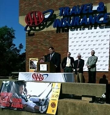 AAA holds news conference to issue warning.