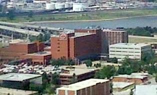 Aerial photo of OSU Medical Center