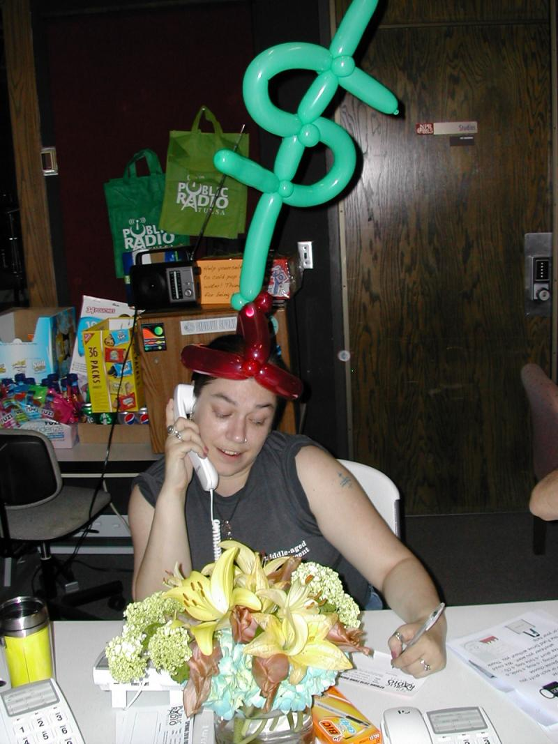 We won't force you to wear silly balloon hats while taking phone pledges, but we won't stop you from wearing one if you insist.