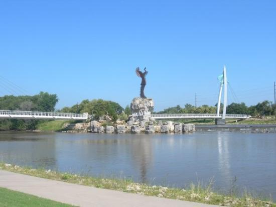 Arkansas River at Wichita