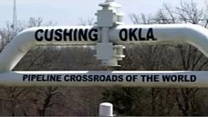 The XL Pipeline would go through Cushing