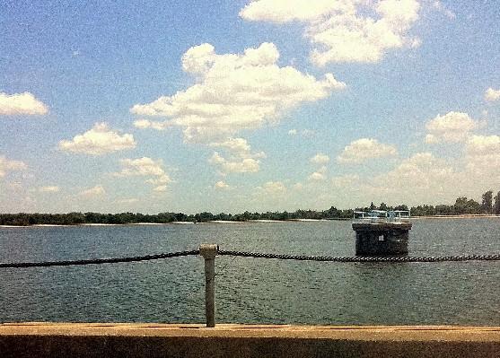 Tulsa's water supply lake near Mohawk Park