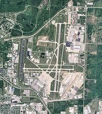 Tulsa International Airport complex