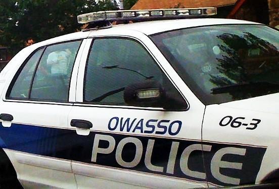 An Owasso Police car