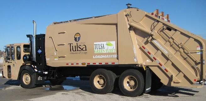 City of Tulsa Trash Truck