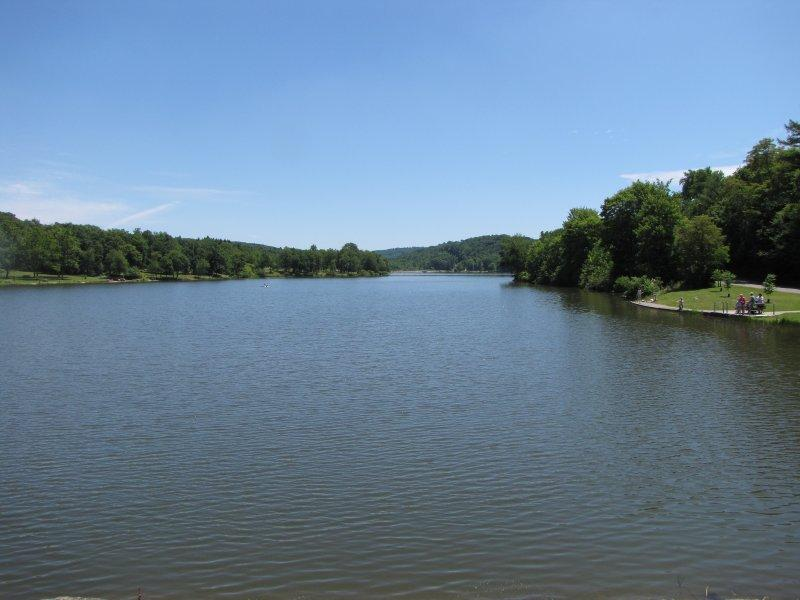 A section of Keystone Lake
