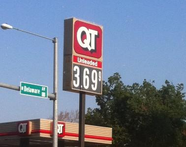 Prices increase at the pump in Tulsa
