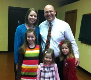 Rev. Bill Hemm and his family