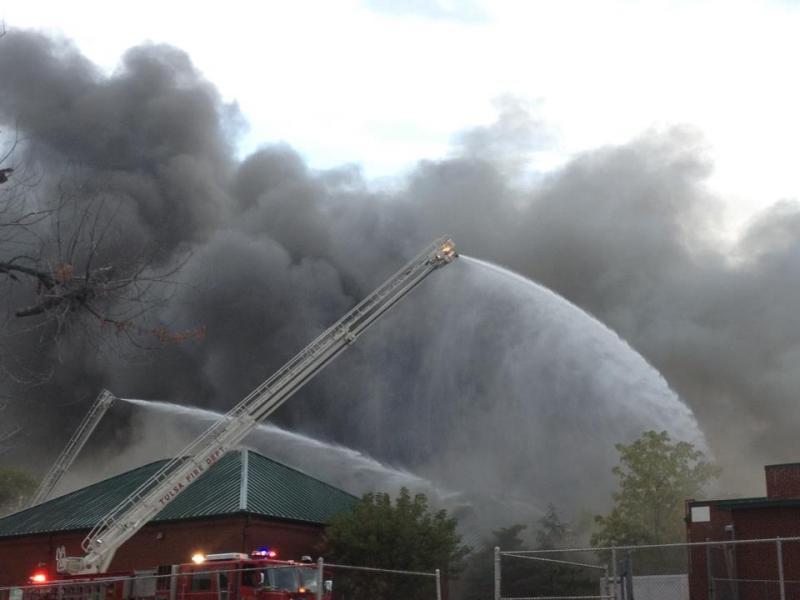 TSAS fire earlier this month