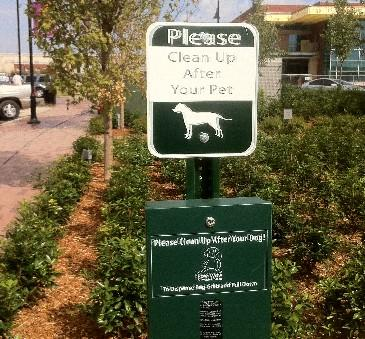 The Guthrie Green is animal friendly, but you are expected to clean-up after your pet.