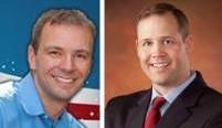 John Olson and Jim Bridenstine
