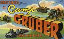 An old Camp Gruber postcard