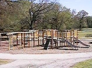 The playground at Hunter Park on 91st Street