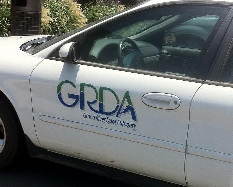 A Grand River Dam Authority vehicle