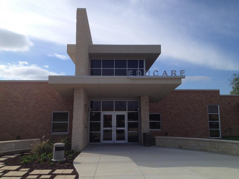 The new Educare facility is located next to MacArthur Elementary, Whitney Middle School and Nathan Hale High School.