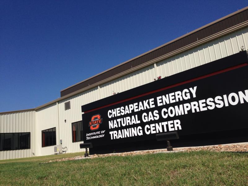 The $4.9 million, 23,920-square foot facility was largely funded by energy company donations. The companies hope the natural gas compression program expands to produce more graduates in the coming years.