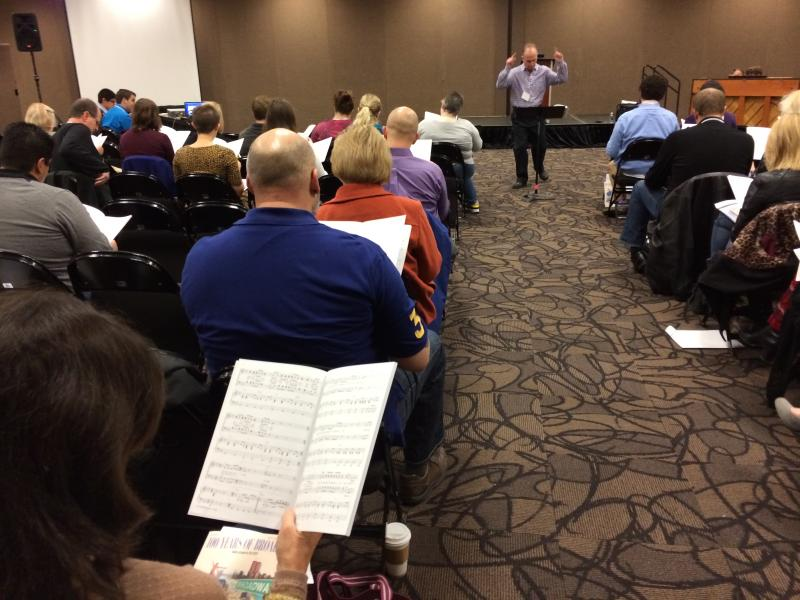 Choral Session: Give My Regards! The Music of Broadway with Mac Huff, clinician