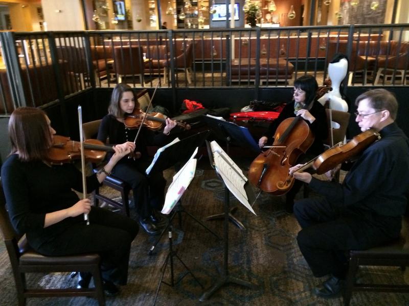 Tulsa Symphony String Quartet's Doubletree Foyer Concert