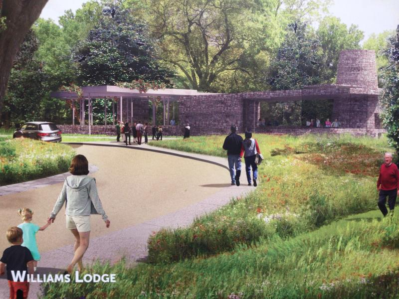 Williams CEO Alan Armstrong announced today the lodge feature in the park will be named for Joe Williams, one of the last two members of the Williams family to head the company.