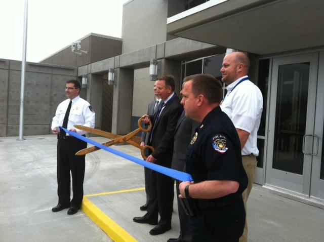 Ribbon cut on new center