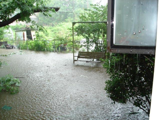 Residents said floods like this one from June 2007 happened once or twice a year.