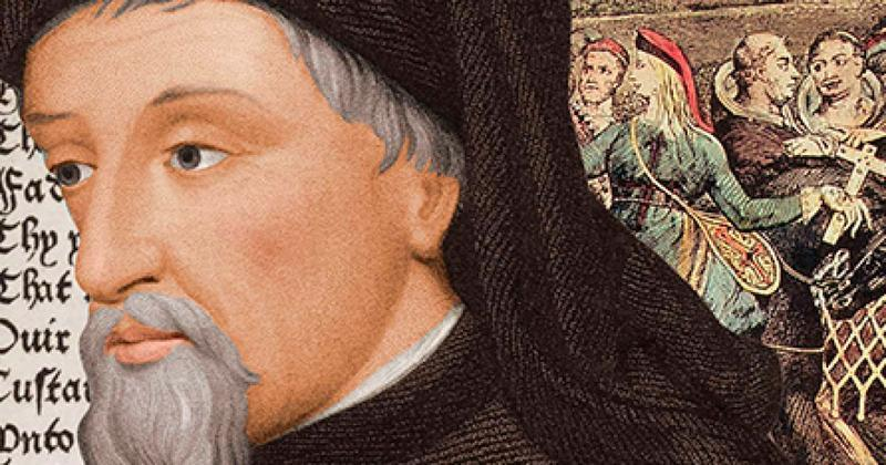 geoffrey chaucers work and themes centered in 14th century europe A complete e-text, quiz questions, major themes  king alfred and geoffrey chaucer this work from the latin into middle english in the 14th century.