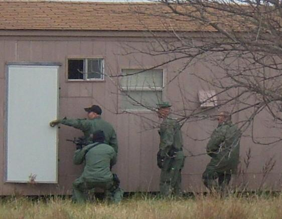 File photo of Oklahoma drug raid