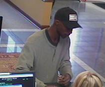 This is the suspet in the Arvest robbery
