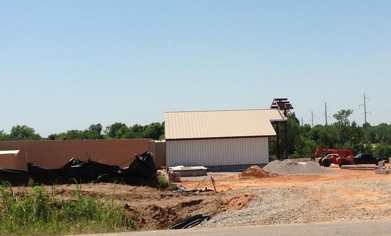 Construction continues on Casino