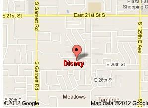 Disney Elementary is in east Tulsa