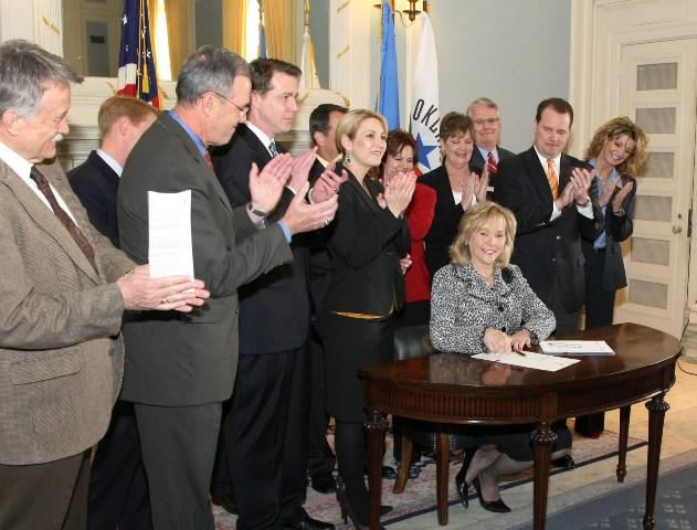 Bill signing ceremony