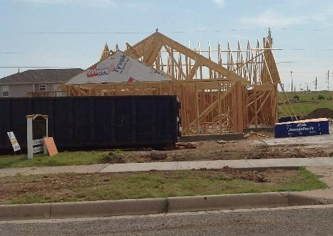Homes are being constructed all over Joplin.