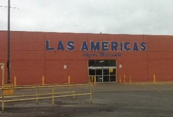The Las Americas store at Admiral and North Lewis