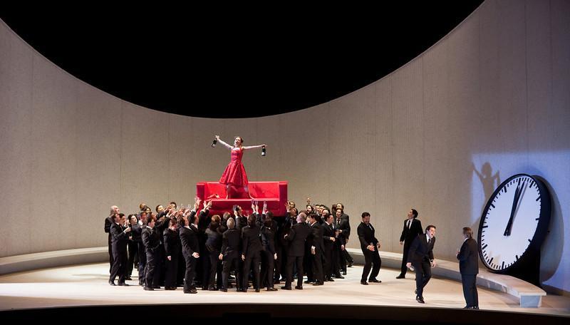 """Scene from Act 1 of Metropolitan Opera's """"La Traviata"""""""