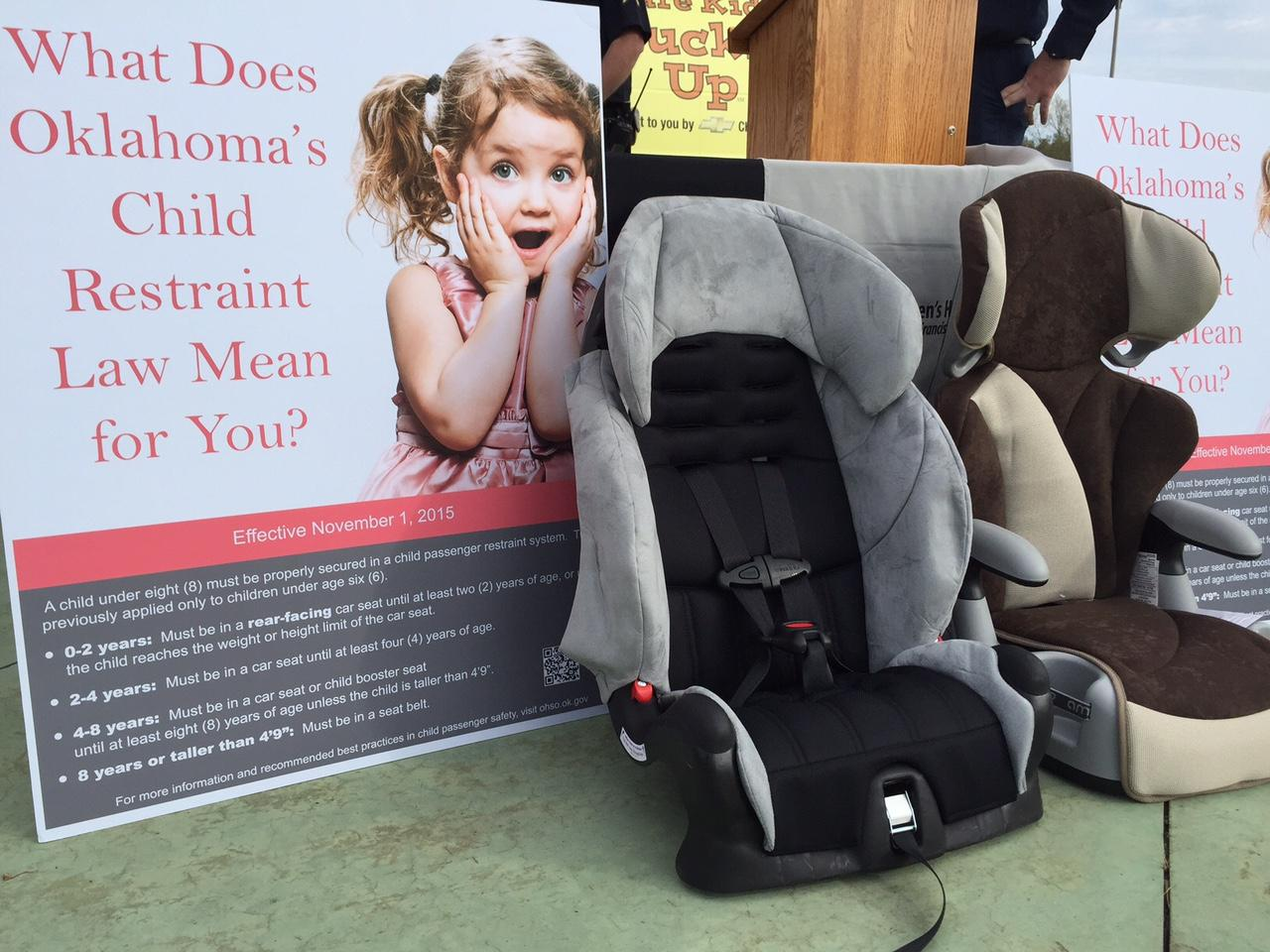 Oklahoma Advocacy Groups Discuss New Child Restraint Law | Public ...